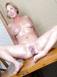 Sensual older dame was fucked