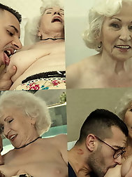 French mature m-i-l-f looks fuckable