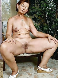 Elder grandmas or mature lady nude or non naked pictures.